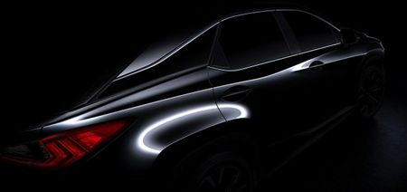 "Float On: First Teaser Reveals ""Floating"" Roof of the 2016 Lexus RX"