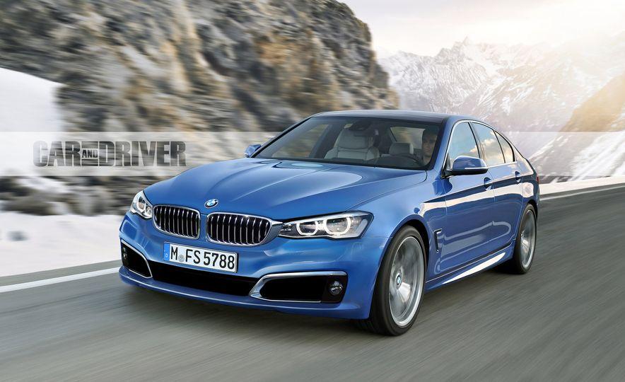 2017 BMW 5-series (artist's rendering) - Slide 1