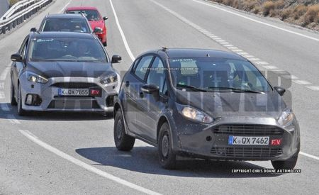 SPIED: 2017 Ford Fiesta RS