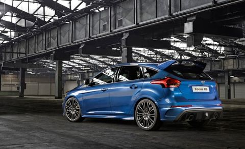 Ford Explains The Focus Rs S Drift Mode News Car And Driver