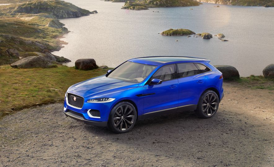 2017 Jaguar F-Pace concept - Slide 21