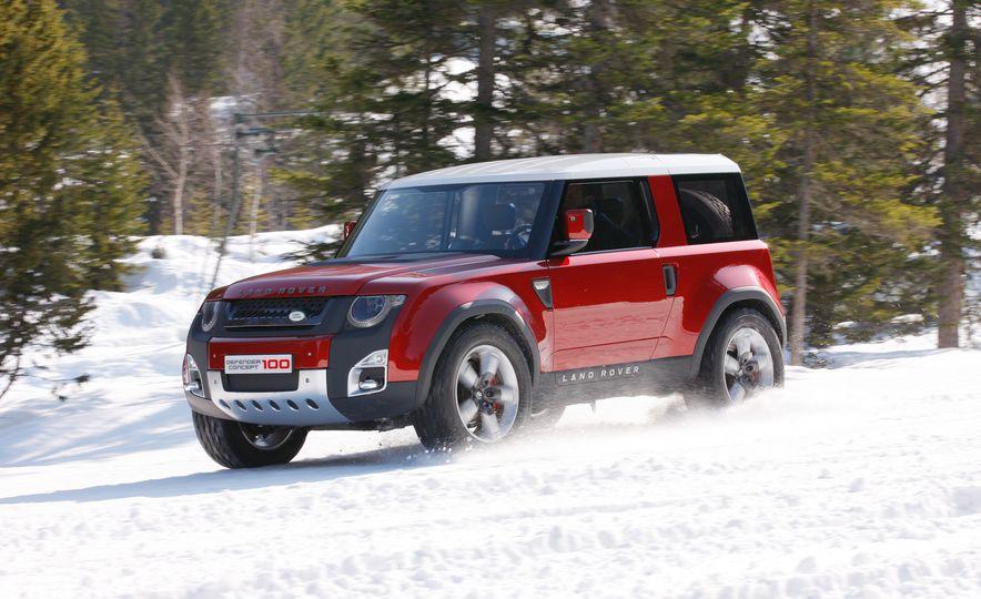 2018 Land Rover Defender concept - Slide 1