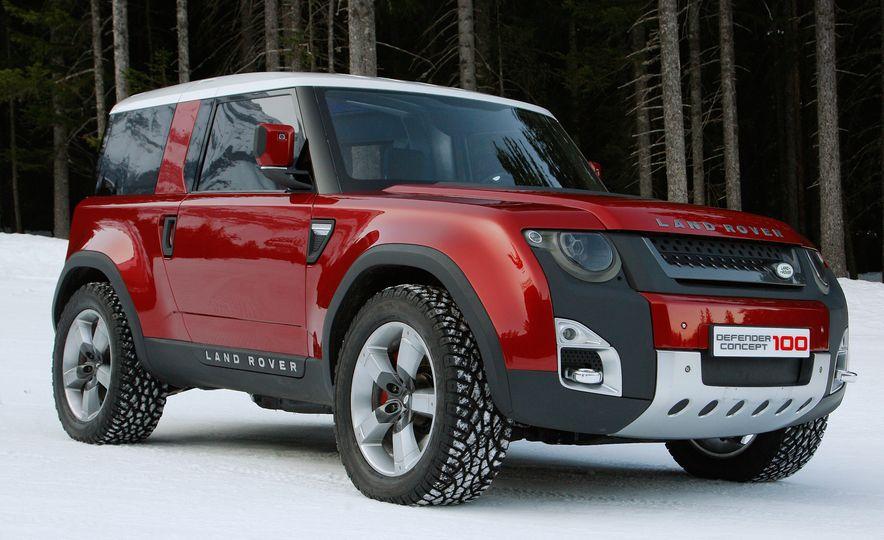 2018 Land Rover Defender concept - Slide 3