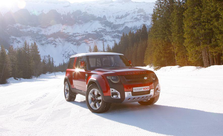 2018 Land Rover Defender concept - Slide 4