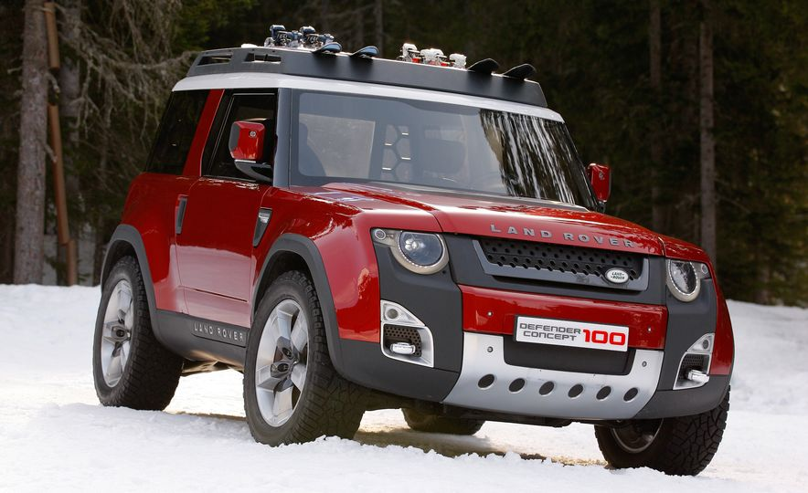 2018 Land Rover Defender concept - Slide 6
