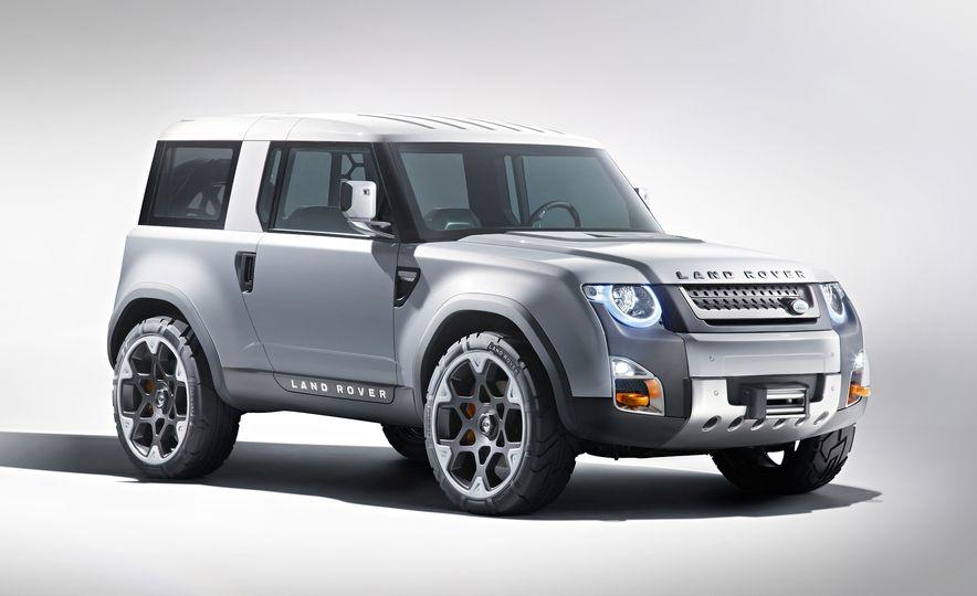 2018 Land Rover Defender concept - Slide 8