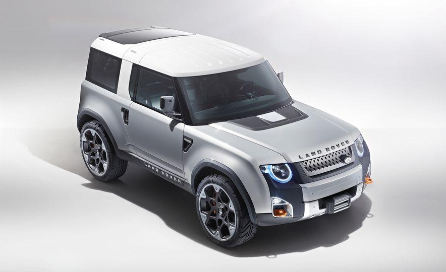 2018 Land Rover Defender concept - Slide 9