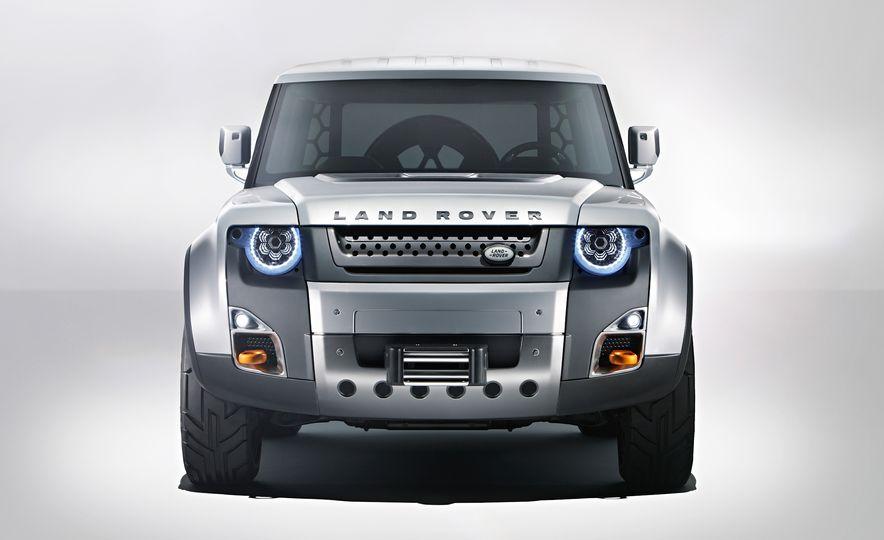2018 Land Rover Defender concept - Slide 11