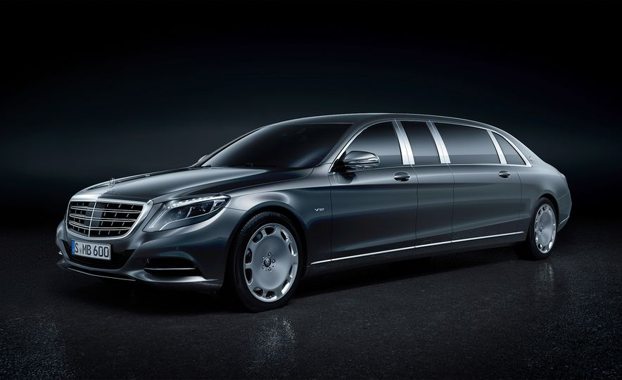 2018 Mercedes-Maybach Pullman - Slide 1