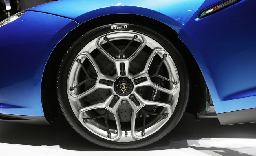 2019 Lamborghini Asterion concept - Slide 16