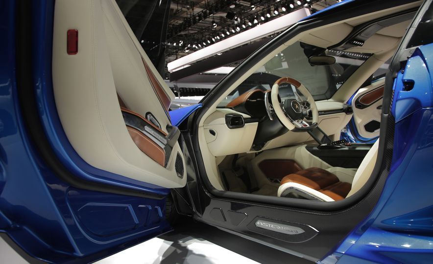 2019 Lamborghini Asterion concept - Slide 19