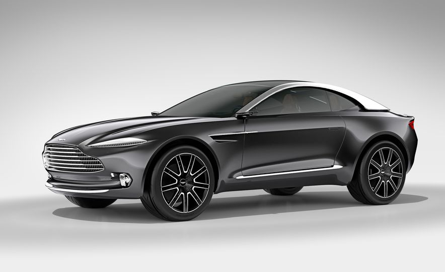 Aston Martin DBX concept - Slide 11