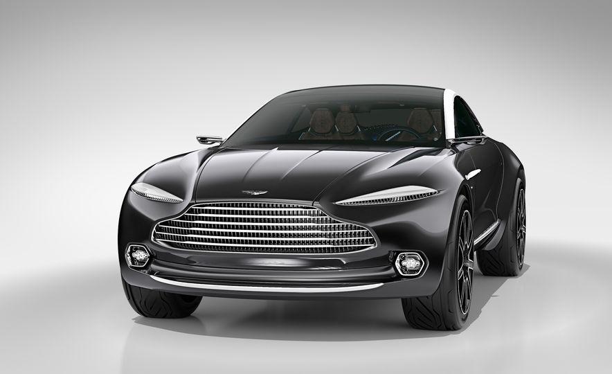 Aston Martin DBX concept - Slide 12
