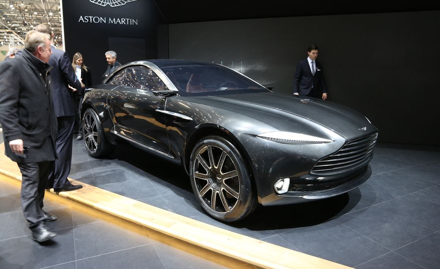 Aston Martin DBX concept - Slide 2