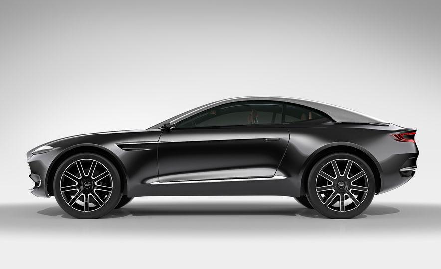 Aston Martin DBX concept - Slide 13