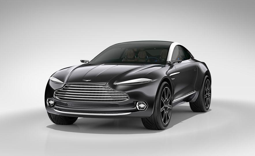 Aston Martin DBX concept - Slide 15