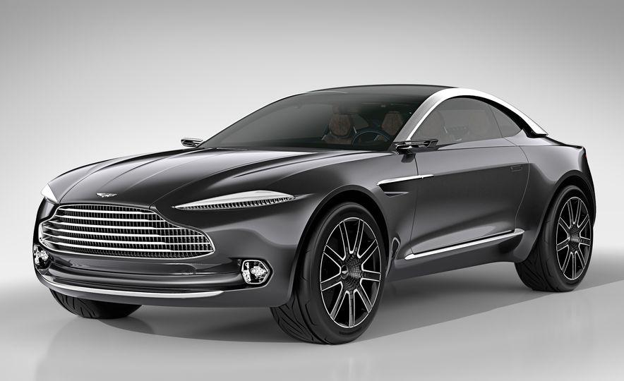 Aston Martin DBX concept - Slide 16