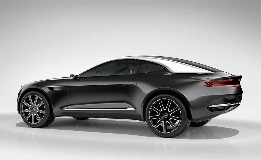 Aston Martin DBX concept - Slide 17