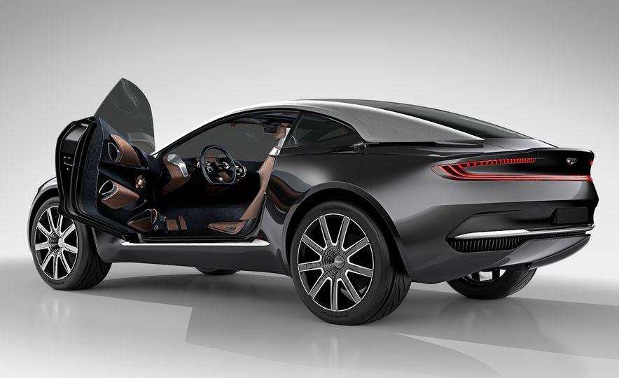 Aston Martin DBX concept - Slide 18