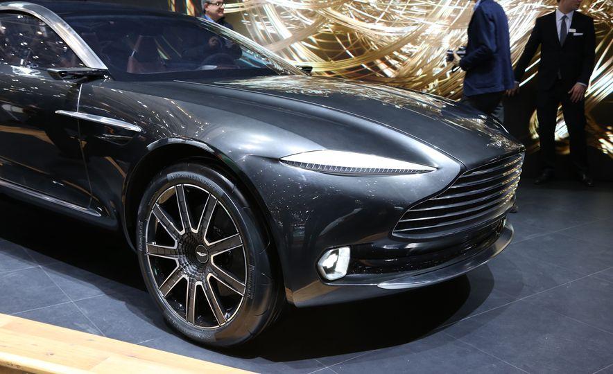 Aston Martin DBX concept - Slide 8