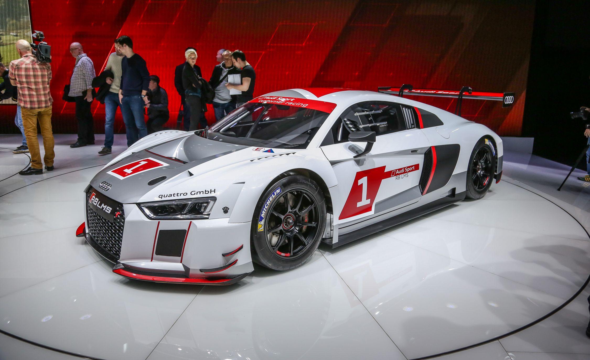 Audi Debuts LMS Racing Version Of AllNew R We Drool News - All audi