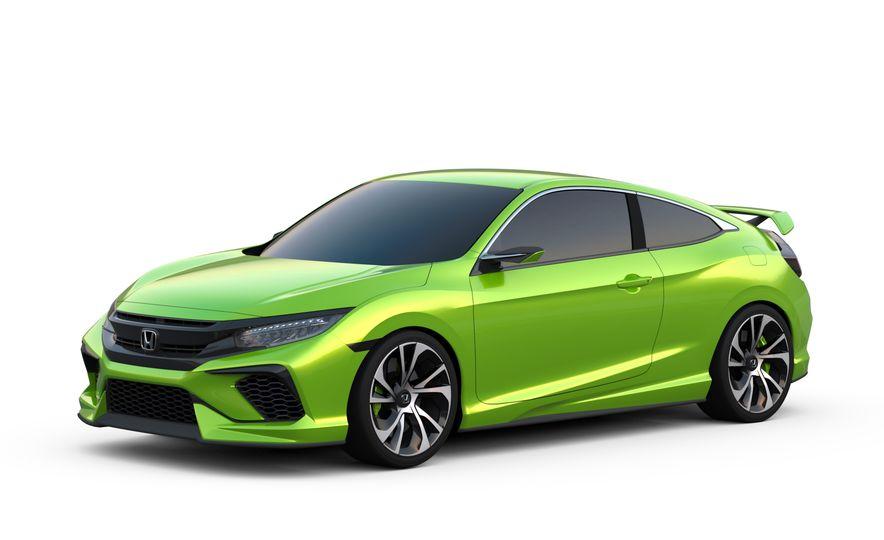Honda Civic coupe concept - Slide 1