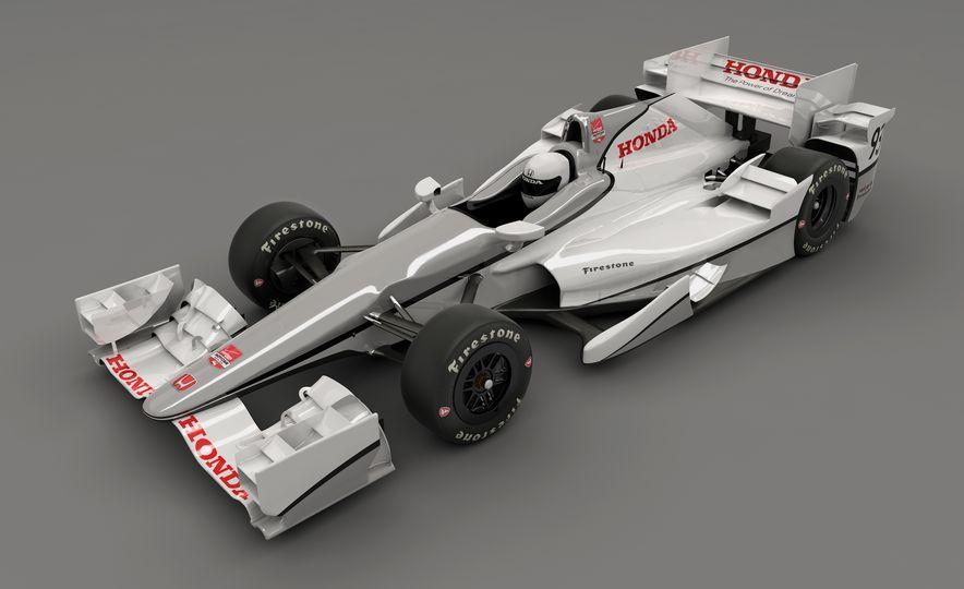 Honda IndyCar aero kit - Slide 1