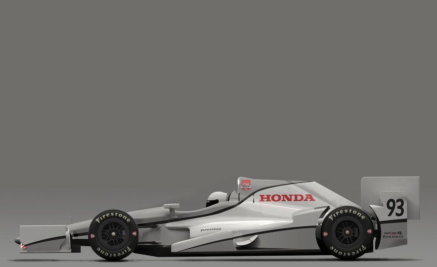 Honda IndyCar aero kit - Slide 3