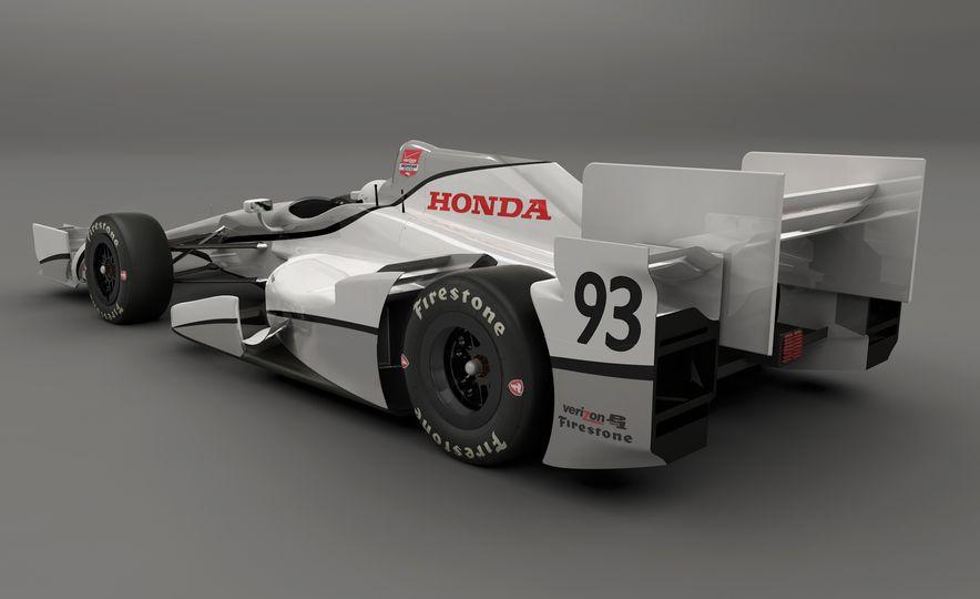 Honda IndyCar aero kit - Slide 4
