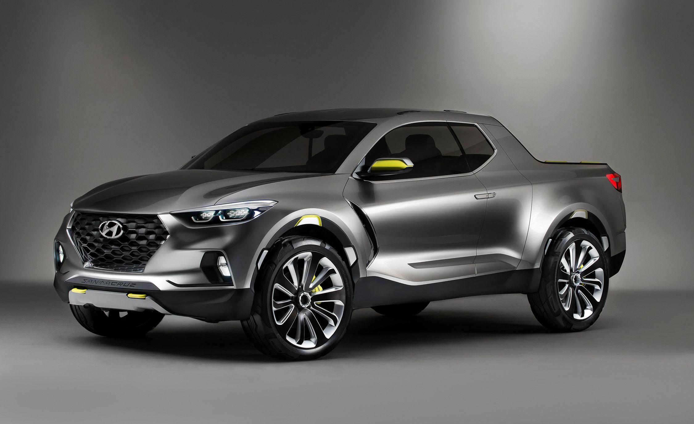 Pick Up Hyundai 2017 >> Hyundai Santa Cruz Crossover Concept Pictures Photo Gallery