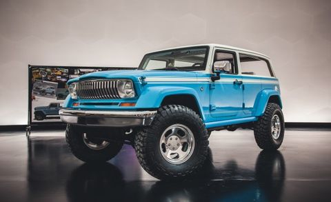 Jeep Chief Concept For Sale >> Jeep Chief Concept Brings The Beach Vibe Anywhere News Car And