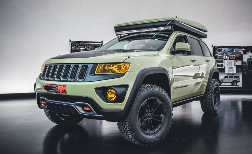 The Magnificent Seven: 2015 Jeep Concept Vehicles Headed to Moab - Slide 18