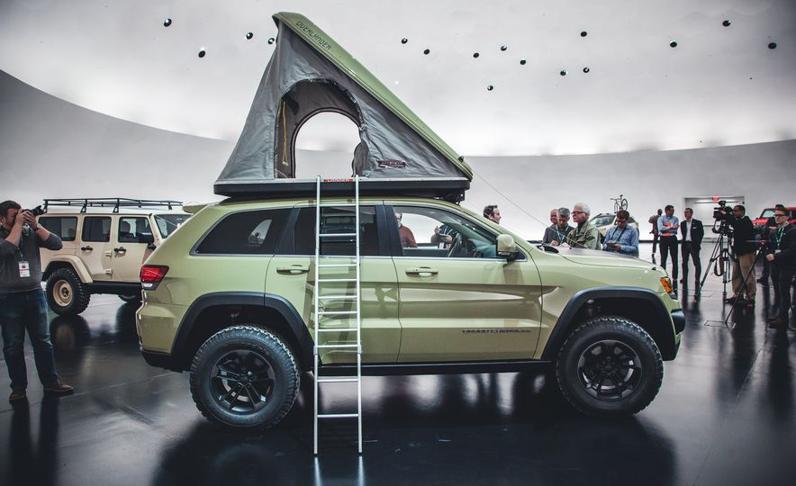 The Magnificent Seven: 2015 Jeep Concept Vehicles Headed to Moab - Slide 19