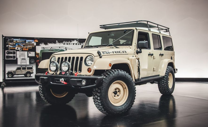 The Magnificent Seven: 2015 Jeep Concept Vehicles Headed to Moab - Slide 2