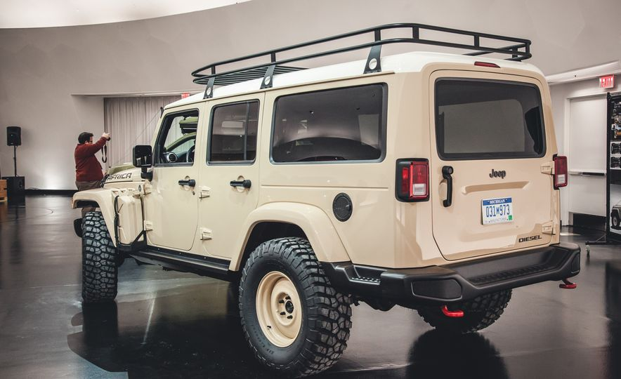 The Magnificent Seven: 2015 Jeep Concept Vehicles Headed to Moab - Slide 3