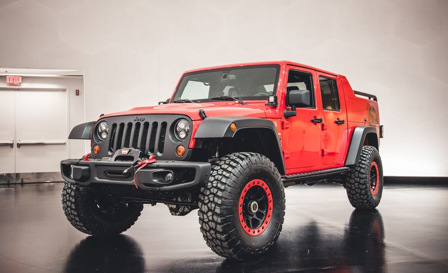 The Magnificent Seven: 2015 Jeep Concept Vehicles Headed to Moab - Slide 14