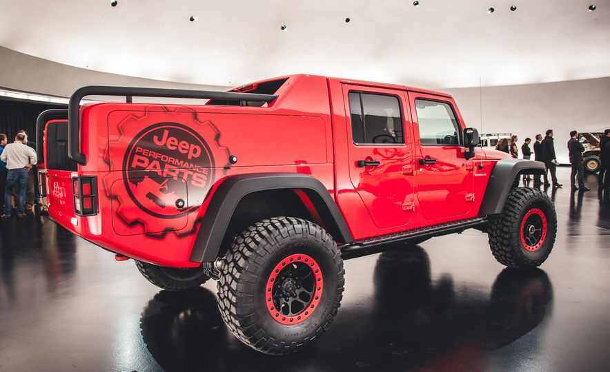 The Magnificent Seven: 2015 Jeep Concept Vehicles Headed to Moab - Slide 15