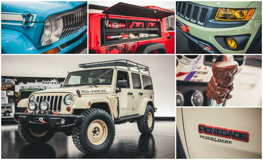 The Magnificent Seven: 2015 Jeep Concept Vehicles Headed to Moab - Slide 1