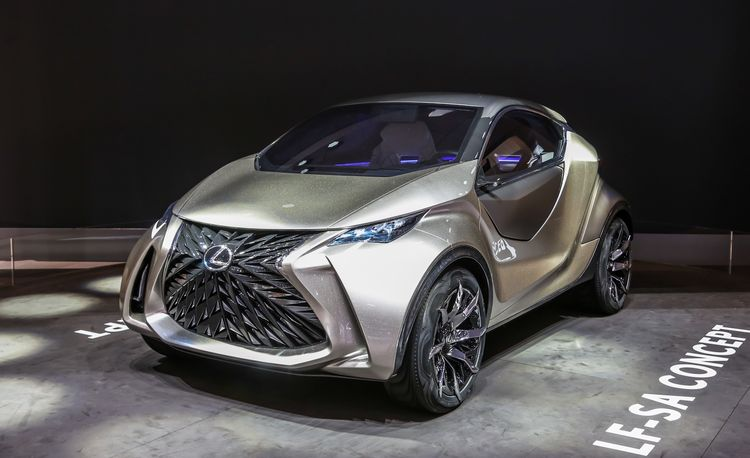 Lexus LF-SA Concept: A Little Ball of Love-It-or-Hate-It – Auto Shows