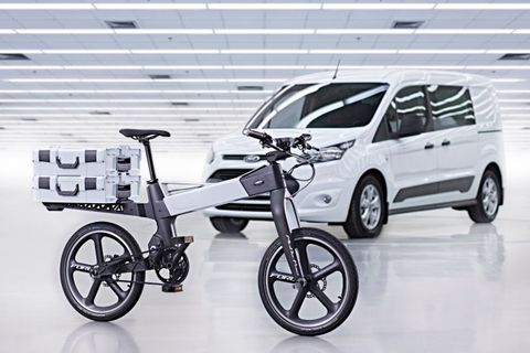 Ford's Nifty Solution for Urban Traffic: App-Connected, Folding Electric Bikes