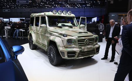 Mansory Sahara Edition: A Camo'd G-wagen with F#@%ing Falcons on the Headrests