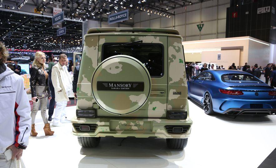 Mansory G-class Sahara Edition - Slide 5