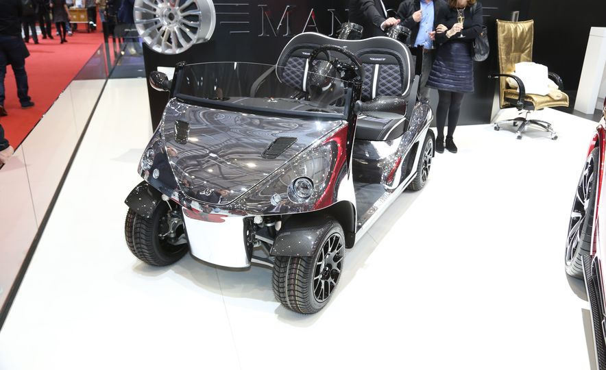 Mansory Garia Mansory Currus golf cart - Slide 1