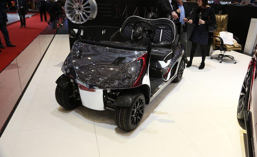 Mansory Garia Mansory Currus golf cart - Slide 2