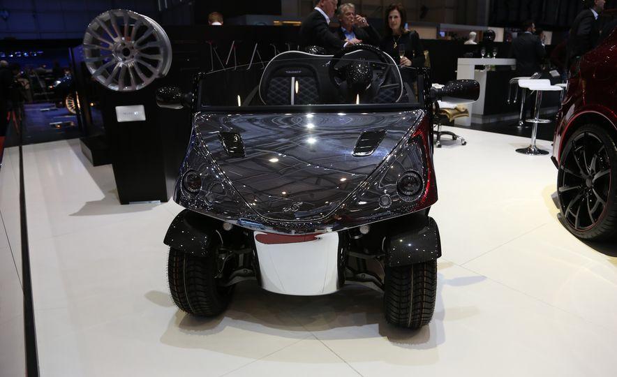 Mansory Garia Mansory Currus golf cart - Slide 3