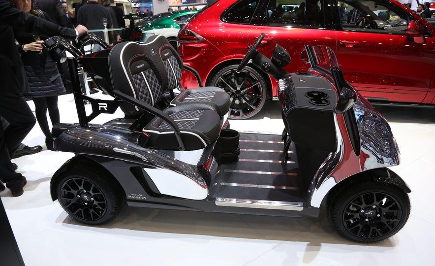 Mansory Garia Mansory Currus golf cart - Slide 4