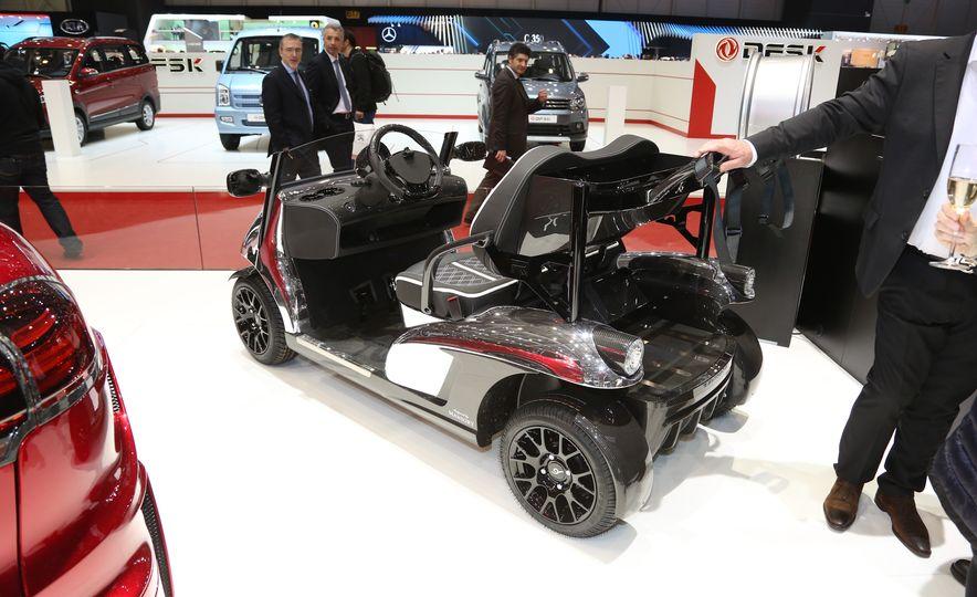 Mansory Garia Mansory Currus golf cart - Slide 5