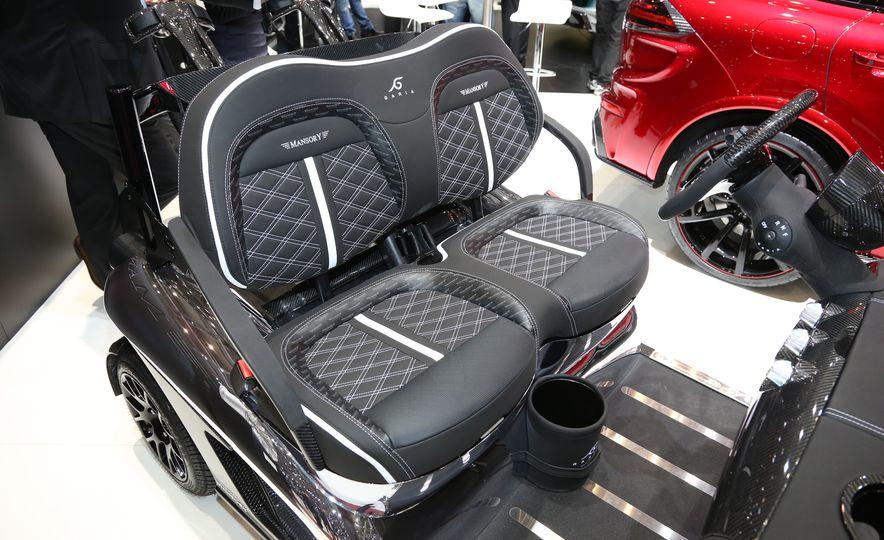 Mansory Garia Mansory Currus golf cart - Slide 7