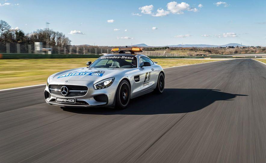 Mercedes-AMG GT S F1 safety car - Slide 1
