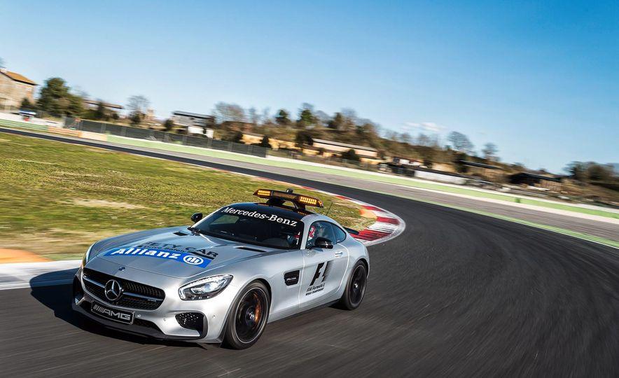 Mercedes-AMG GT S F1 safety car - Slide 2